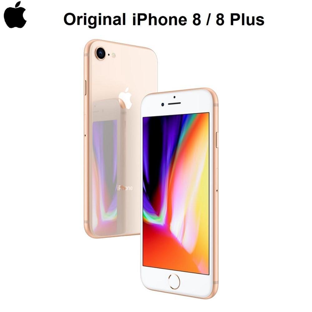 Оригинальный оригинальный Apple iPhone 8/8 Plus, дисплей 4,7/5,5 дюйм Retina, 12 МП, сенсорный ID, смартфон IOS, водонепроницаемый, Bluetooth