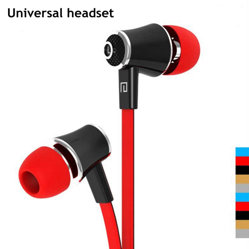 Original Kopfhörer Kopfhörer 3,5mm Stereo Ohrhörer Bass Headset Mic für iphone für Samsung Xiaomi Sony Kopfhörer Huawei Auriculare