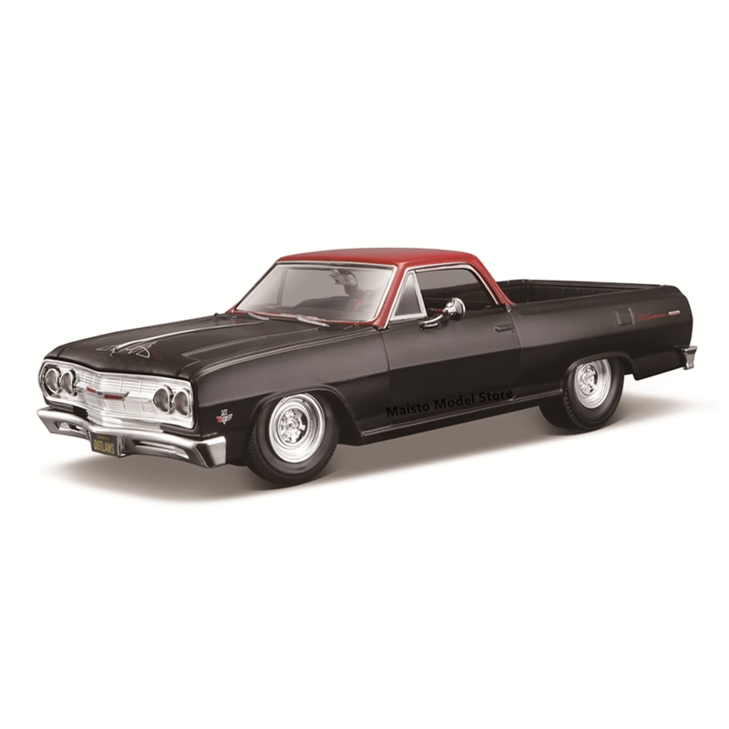 Maisto 1:24 Modified version 1965 Chevrolet EI CAMINO edition Highly-detailed die-cast precision model car Model collection gift