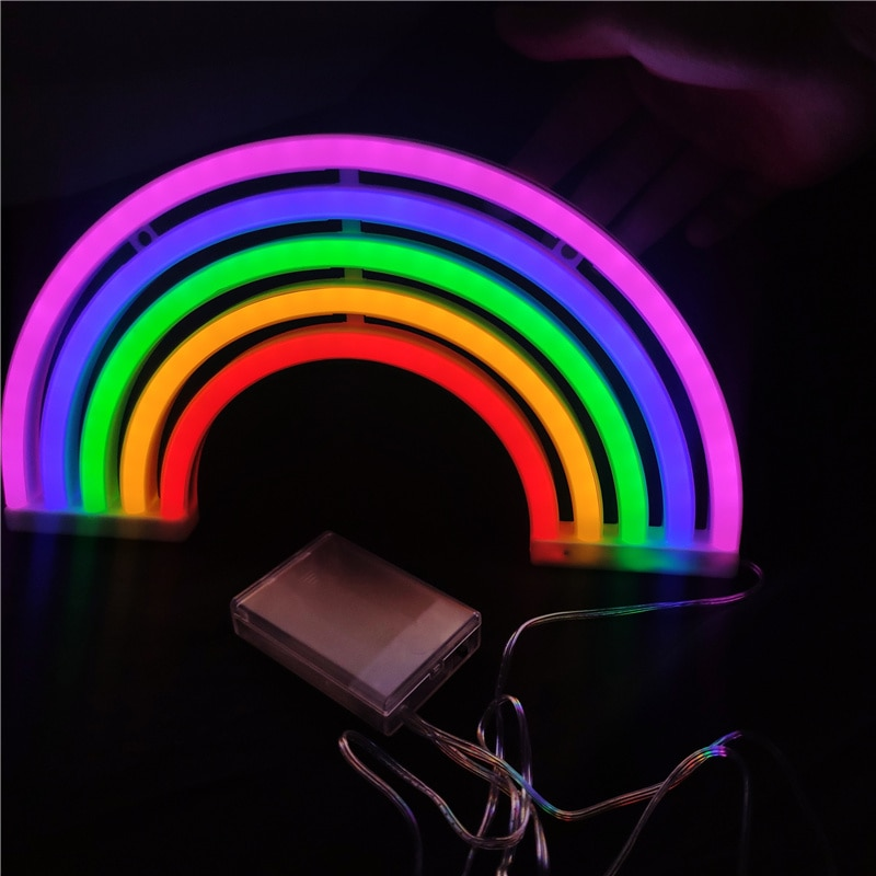 LED Rainbow lights neon light outdoor lighting christmas lights Night Light neon light christmas decorations for home navidad