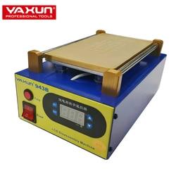 YAXUN YX943B 8.5 polegada placa, Built-In Bomba de Vácuo Separador de Ar móvel, tela de toque LCD máquina separada, estação de pré
