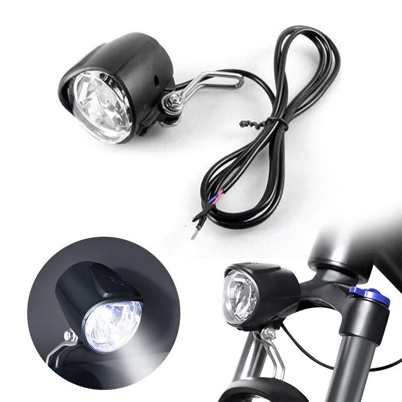 Komponente Teile Elektrische Fahrrad 6V LED Scheinwerfer EBike Für Bafang Motor Sport Mittlere Stick Elektrische Fahrrad Zubehör