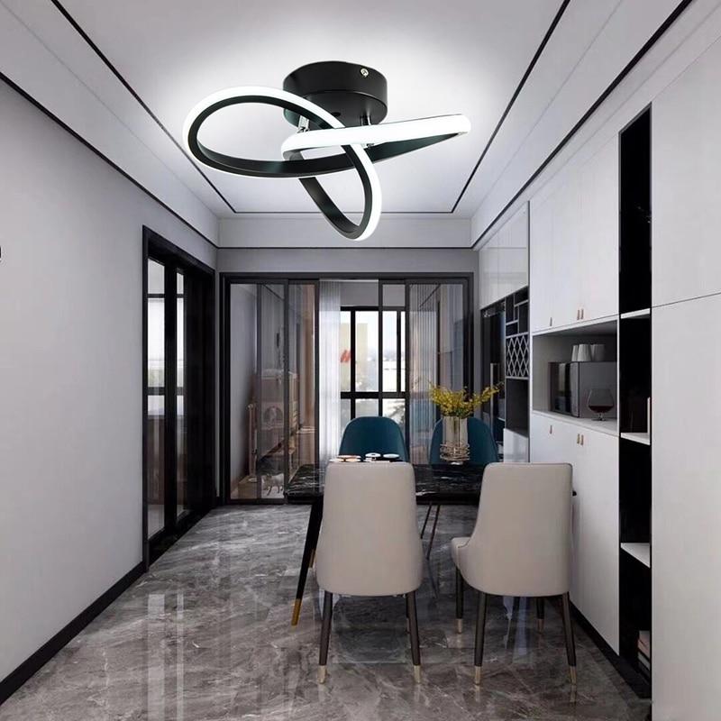 Led ضوء السقف الحديثة الحد الأدنى شرفة الممر مصباح المنزل الممر غرفة قناة مصباح السقف الشمال Ins المطبخ أضواء السقف