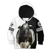 farmer dairy cattle 3d printed hoodies kids pullover sweatshirt tracksuit jacket t shirts boy girl funny animal clothes 17