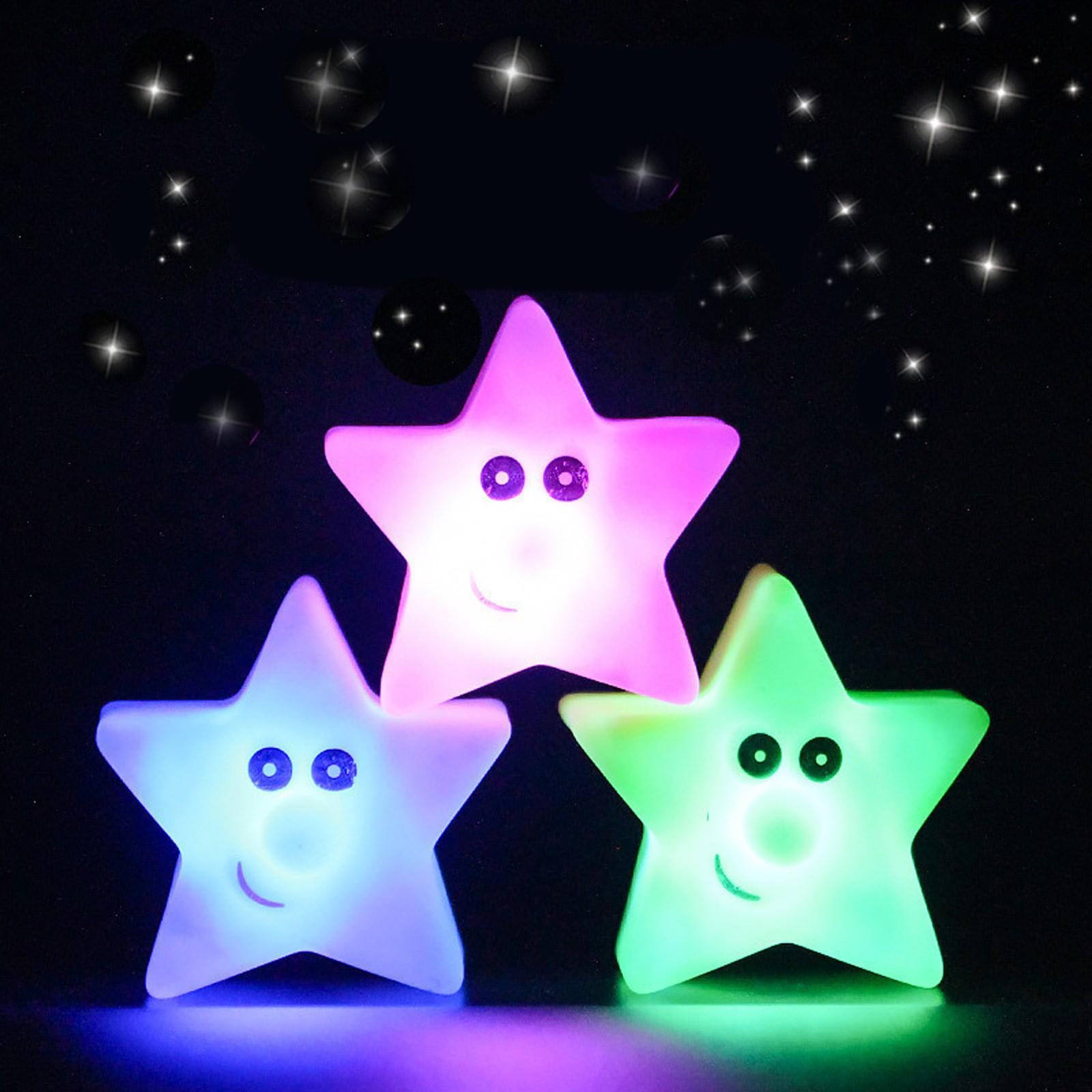 Lámpara Led De decoloración creativa con batería Para dormitorio, luz decorativa De...