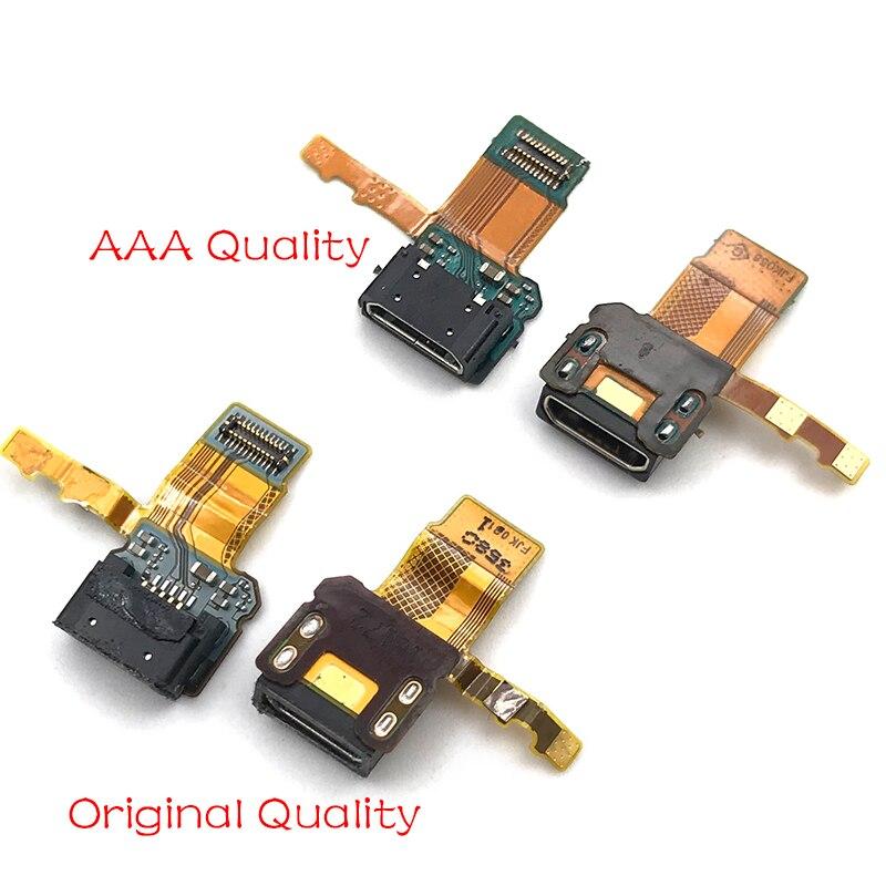 10 шт./лот, для Sony Xperia X F5121 USB порт для зарядки док-станция зарядное устройство плата гибкий ленточный кабель Запчасти для мобильного телефона
