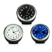 Car Clock Ornament Auto Watch Decoration Automobiles Interior Dashboard Time Display Digital Pointer