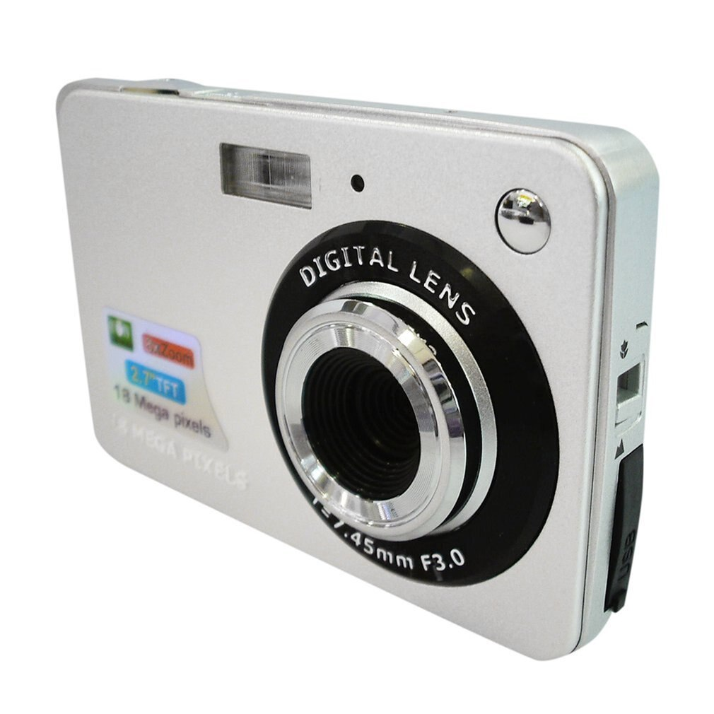 DC530 HD 720P 18MP Digital Video Camera Camcorder with 8X Digital Zoom Anti-shake 5MP CMOS Sensor 2.7 TFT LCD