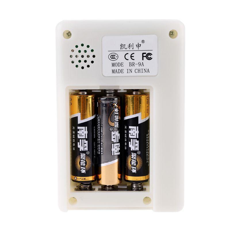 Profesional electromagnética dosímetro con Detector de radiación Monitor de radiación probador medidor EMF BR-9A