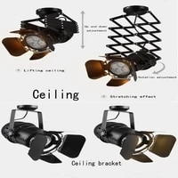 modern vintage industrial painted ceiling lights e27 plafonnier led ceiling lamp luminaire for living room bedroom hotel bar