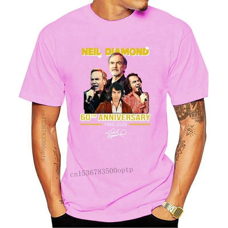 New Neil Diamond 60Th Anniversary 1960-2929 Signature T-Shirt
