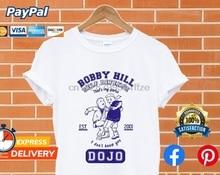 Summer funny print men tshirt women Bobby Hill Self Defense Dojo T shirt