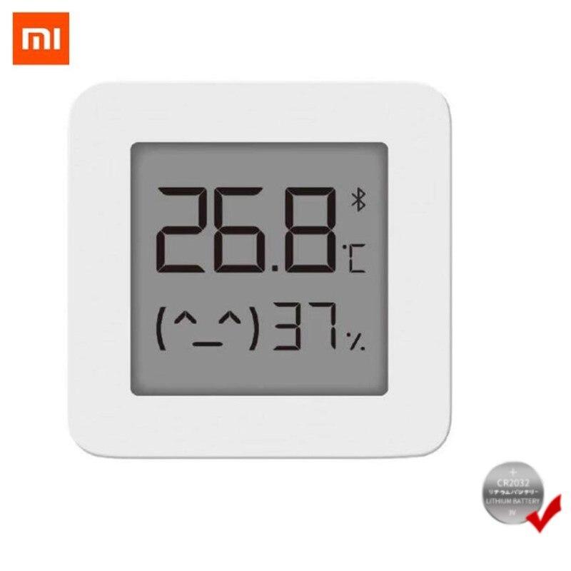 Термометр XIAOMI Mijia, цифровой беспроводной смарт-термометр, совместимый с Bluetooth, работает с приложением Mi