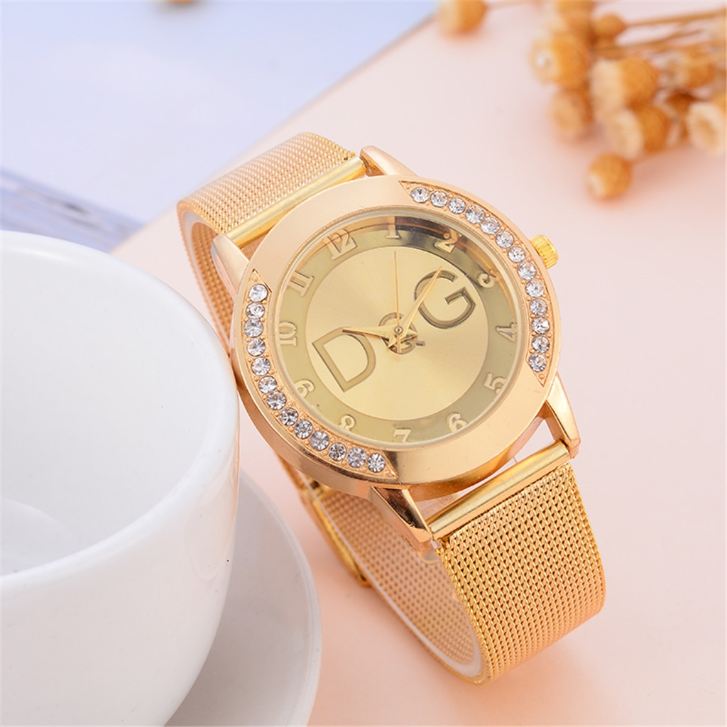2020 new European fashion popular style women luxury watch brand Quartz watches Reloj Mujer casual s