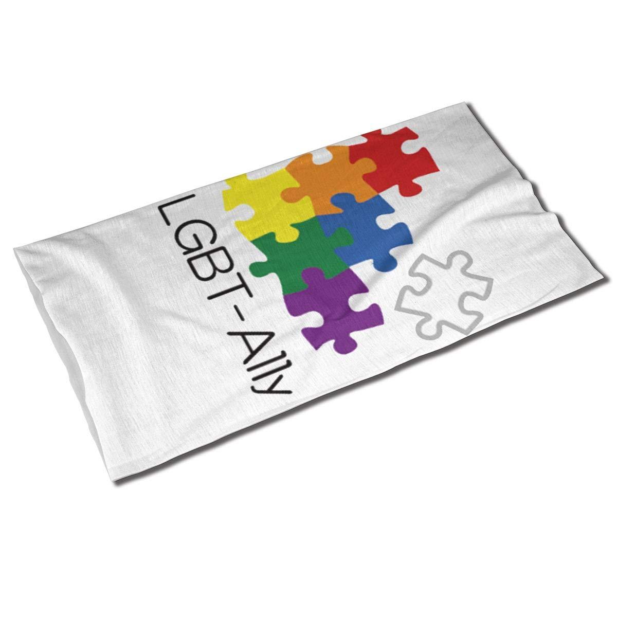Diadema Unisex LGBT de ali-puzzle Gay Pride, bufanda de deporte al aire libre, Bandana, bufanda, cuello, banda para el pelo
