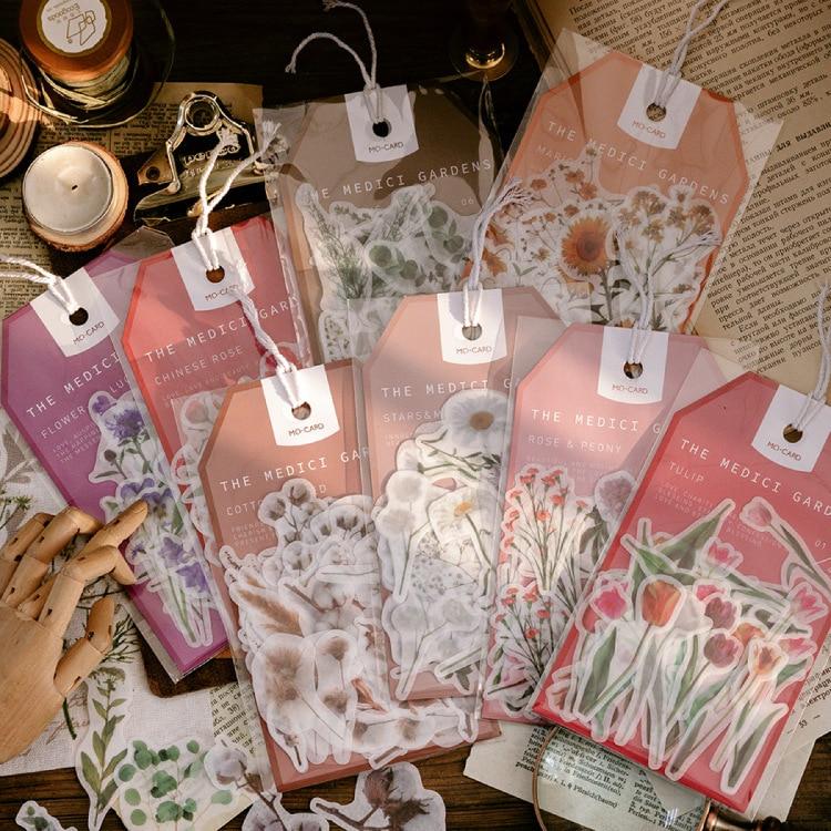 juego-de-pegatinas-washi-de-coleccion-de-flores-vintage-decoracion-album-de-recortes-diario-etiqueta-adhesiva-papeleria-45-uds