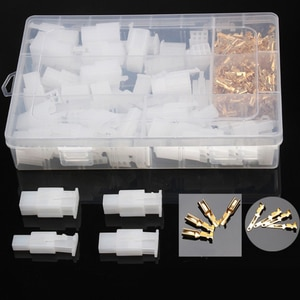 2.8mm 2 3 4 6 Pin WireTerminal Connector Car Motorcycle Electrical Fixed Hook Male Female Terminals 380Pcs Wholesale