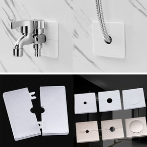 ABS Adhesive Wall Hole Cover Pipe Covers Switch Panel Wall Decor