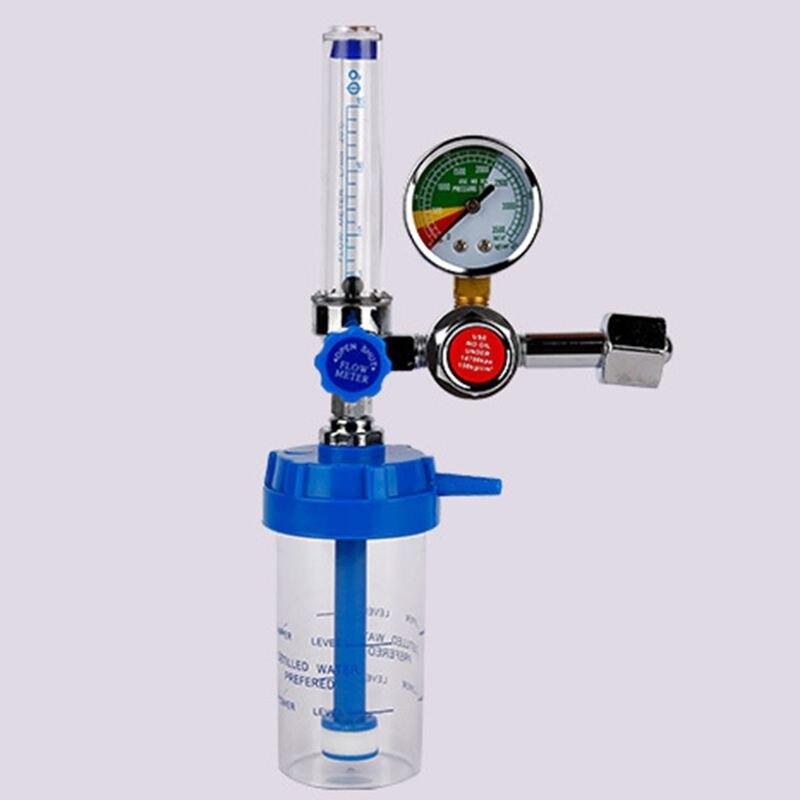 """Válvula de redução de pressão g5/8 """"do medidor de pressão do inalador do oxigênio do regulador de pressão do oxigênio"""