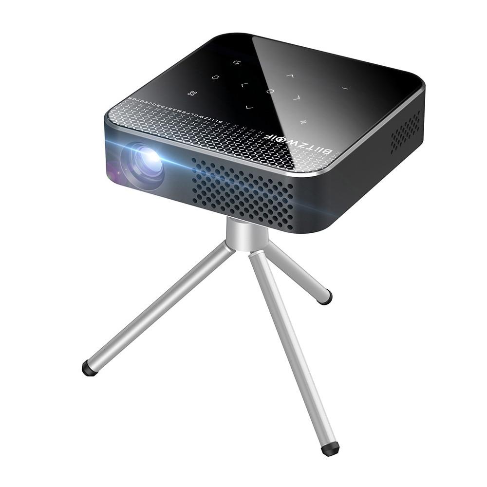 Blitzwolf BW-VT1 DLP MINI WIFI Projector Smart Theater Projectors Android 9.0 2+16GB Wireless Phone Mirroring Support 1080P HD