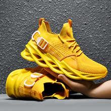 Мужские кроссовки для бега, дышащие сетчатые кроссовки больших размеров 36-49, повседневные, летний сезон 2020