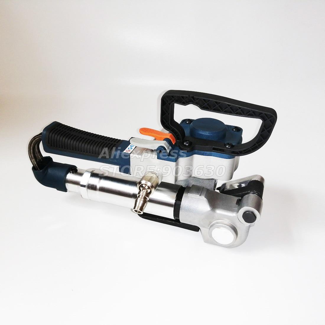 آلة التعبئة المحمولة هوائي PET البلاستيك PP البولي بروبلين اليد آلة الربط في ورقة صندوق صناعي خشبي التعبئة