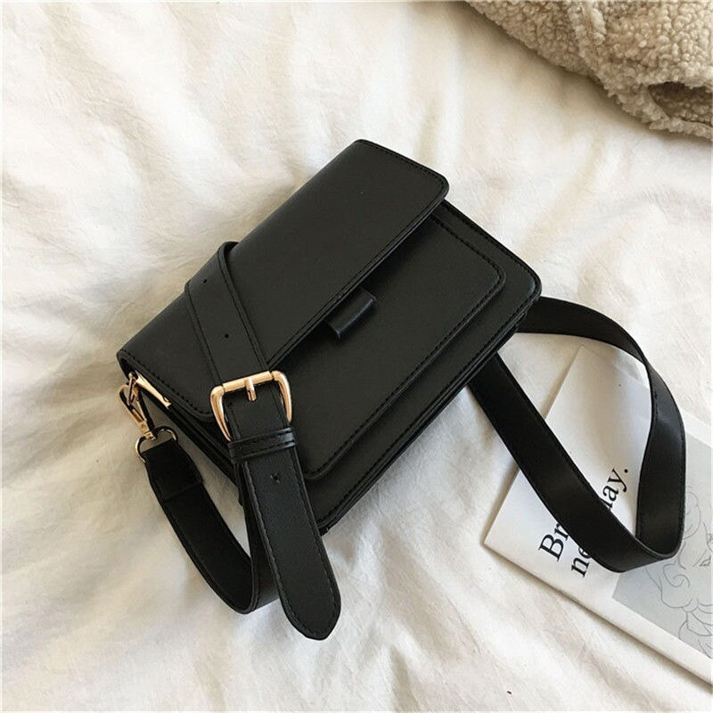 OLSITTI New Small Shoulder Bags for Women 2021 Fashion Pu Leather Messenger Bags Brief Flap Crossbod