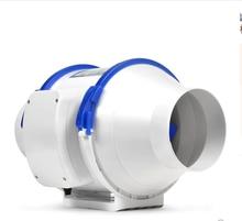 صامت المنزل مروحة لاصقة مدمجة مع نظام التهوية القوية مروحة مستخرج الهواء للمطبخ المرحاض الحمام منفاخ Recuperator