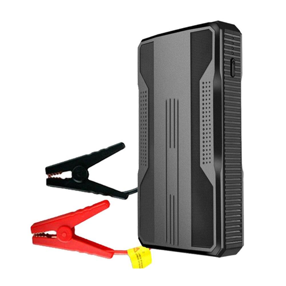 Автомобильное пусковое устройство 20000 мАч, внешний аккумулятор, портативный аварийный автомобильный аккумулятор, бустер 5 В/2 А, USB-выход, све...