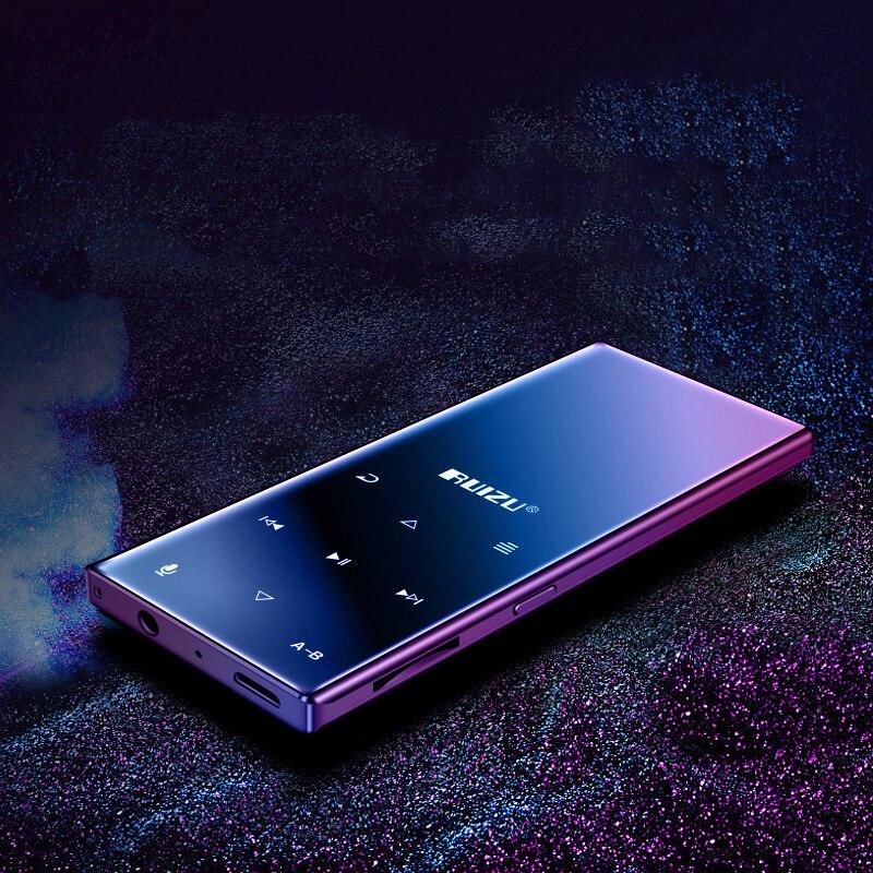 2021Original New Metal Bluetooth MP4 Player ruizu d29 Portable Lossless HiFi Music video Player Built in Speaker FM Radio E-book enlarge