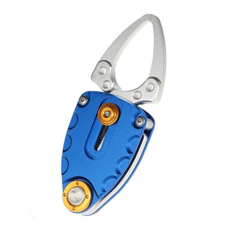 Stainless Steel Mini Fish Lip Grip Gripper Fishing Grabber Secure Pliers Lip Grips Tackles enlarge