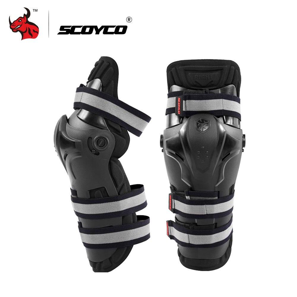 SCOYCO Motorrad Reiten Knie Pads Motocross Off-Road Racing Knie Protector Schutz Outdoor Sport Schutz Getriebe Zubehör