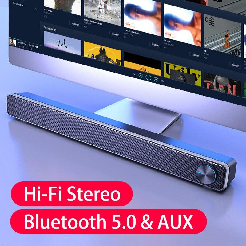 Barra De sonido con Bluetooth para cine en casa, altavoz Subwoofer para...
