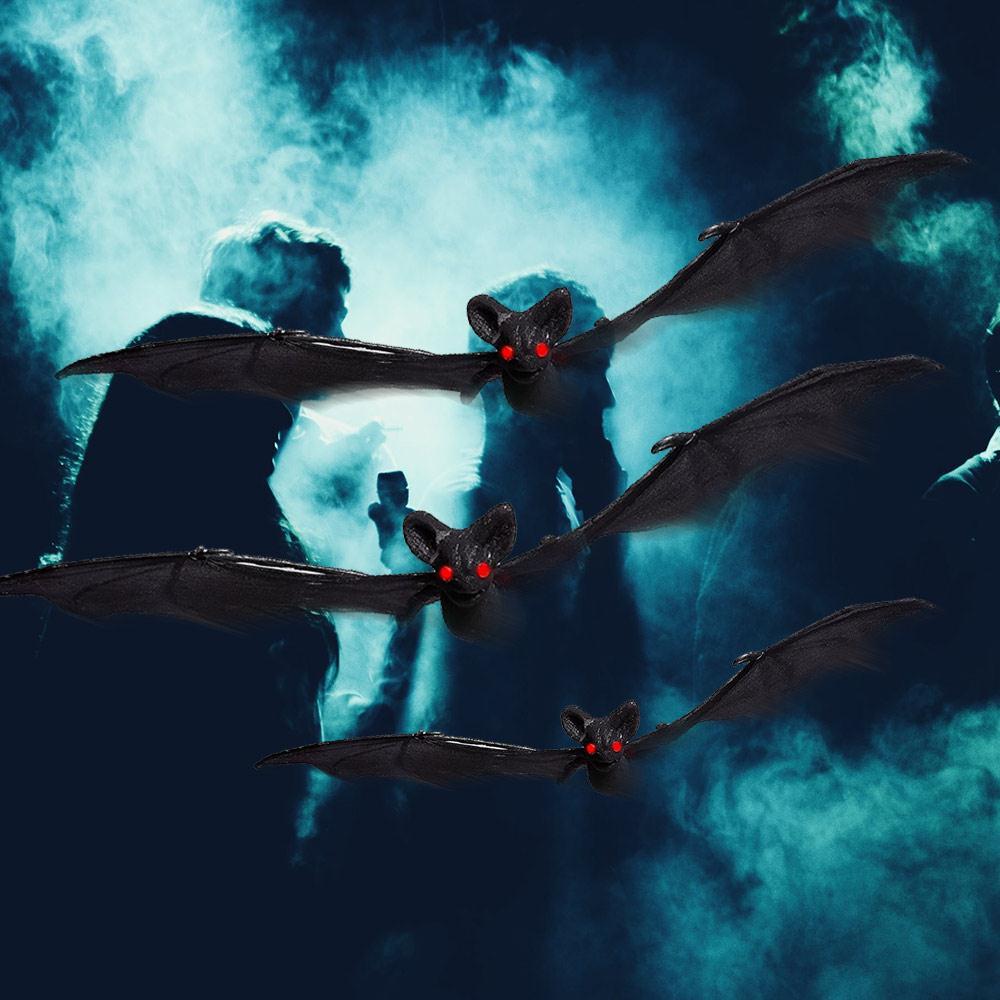 12cm/14cm/17cm/25cm nuevo estilo creativo terrorífico Halloween decoración Halloween Bat atmósfera Bar niños KTV mercado