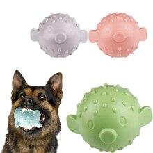 Boule de caoutchouc pour chien 1 pièce   Jouet en forme de poisson, chiot, jouet à mâcher coulant interactif, fournitures Molar Non-toxique
