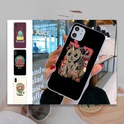 Caso de telefone de invasão de espécies para iphone 5 6 7 8 11 plus xr x xs max se2020 iphone 11pro transparente