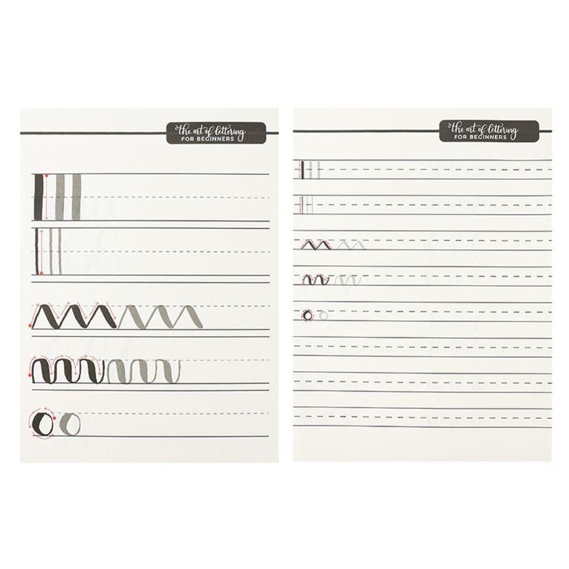 Reutilizable inglés alfabeto número cuaderno caligrafía escritura ejercicio niños X6HB