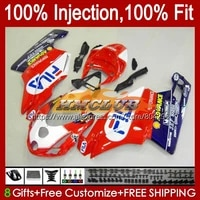 injection body for ducati 749 999 s r 749s 999s 05 bodywork 110no 11 red white new 749 999 05 06 749r 999r 2005 2006 oem fairing