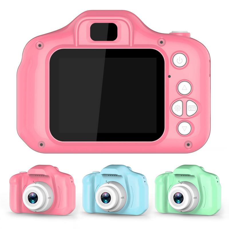 Children Mini Cute Digital Camera 2.0 Inch Photo Picture Camera 1080P Children Toys Gift Video Recor