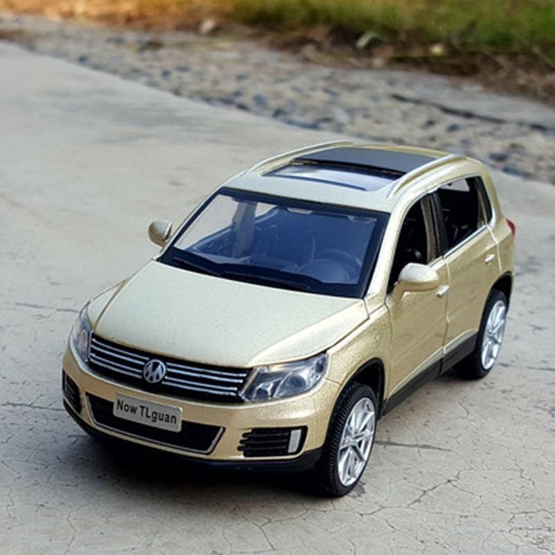 132 volkswagen tiguan liga modelo de carro diecasts brinquedo veiculos de metal modelo