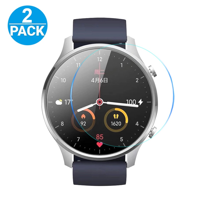 Full Screen Protector For Xiaomi Color Sports Smart Watch HD Clear Soft Nano explosion-proof TPU Film Cover Protective(Not glass transparent screen protector for xiaomi smart sports watch