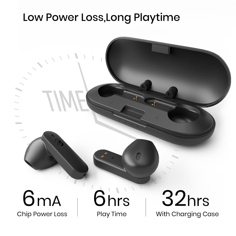 True Wireless Earbuds Qualcomm 3040 Aptx-HD  Earphones  CVC8.0 4 Microphones Noisy Cancellation Low Latency Headphones Funcl AI enlarge