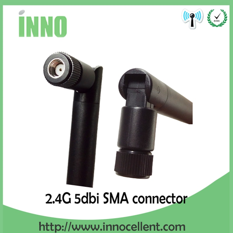 100pcs wholesale 2.4GHz Antenna 5dBi RP-SMA Male connector WiFi antena 2.4 ghz antene 21cm RP SMA to ufl./ IPX 1.13 Pigtai cable enlarge