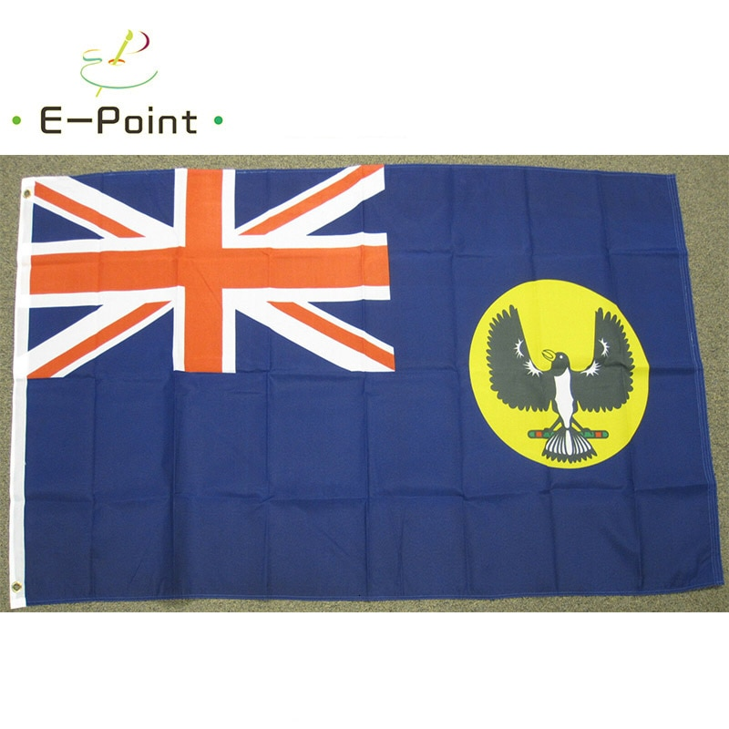 South Australia Flag Australian Province 2ft*3ft (60*90cm) 3ft*5ft (90*150cm) Size Christmas Decorations for Home Flag Banner