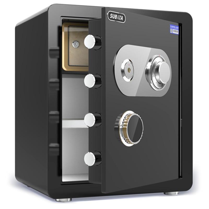 Mechanical Lock Safe Household Anti-theft Invisible Safe Key Type Mechanical Safe Deposit Box with Lock Manual Safe Deposit Box
