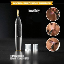 Ultra-thin Durable Trimmer Electric Precision Shaver Styler And Hair Removal Tool Portable Sleek Des