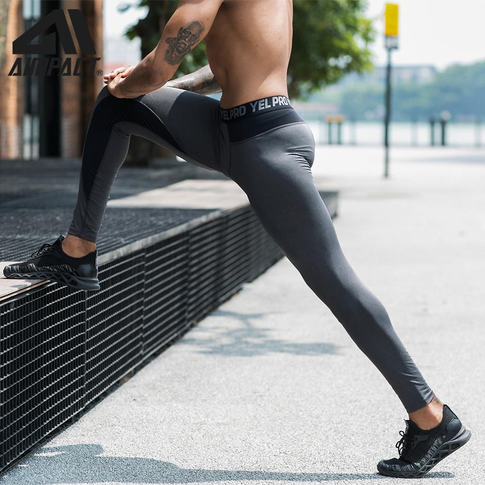 AIMPACT Tight Legging Compression Training Muscle Jogging Yoga Pants Sportswear Letter Waist Mesh  Splice Gym Skinny Trousers
