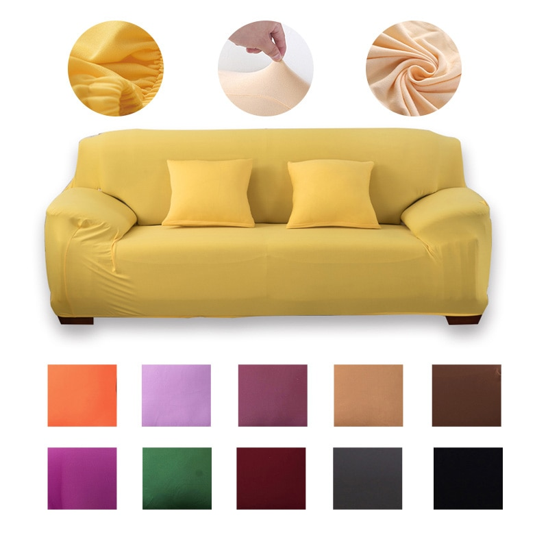 universal sectional slipcover 1 2 3 4 seater spandex sofa cover for living room stretchable sofa cover l shape home decoration Modern sofa cover spandex Elastic Sofa Covers for Living Room  l shape Cover for Corner Sofa 1/2/3/4 Sectional Sofa Cover