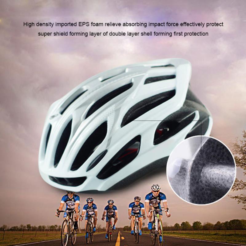 New Ultralight Cycling Helmet Bike Mountain Road MTB Parts Helmets 19 Air Vents Bike Equipment Bicycle Helmet EPS PC Outdoor Hot