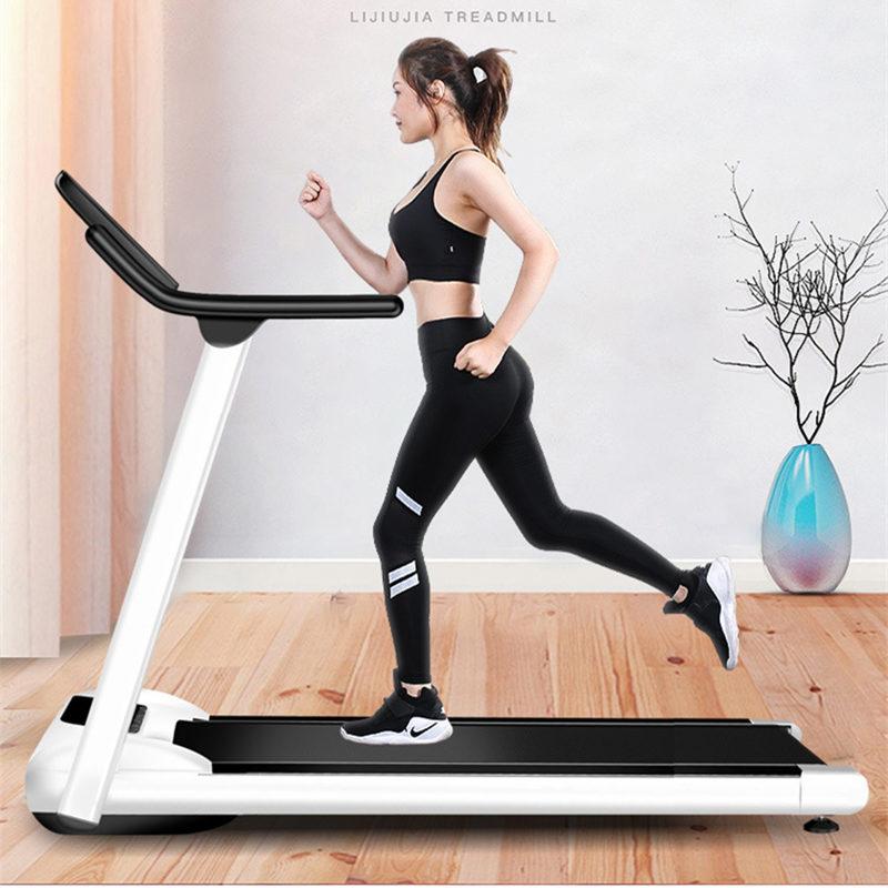 Mini cinta de correr plegable multifuncional para gimnasio, equipo para ejercicio interior, casa para correr